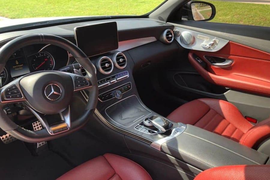 Mercedes Benz C43 Rental LA