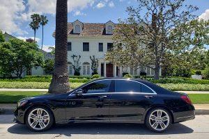 Mercedes S560 Rental