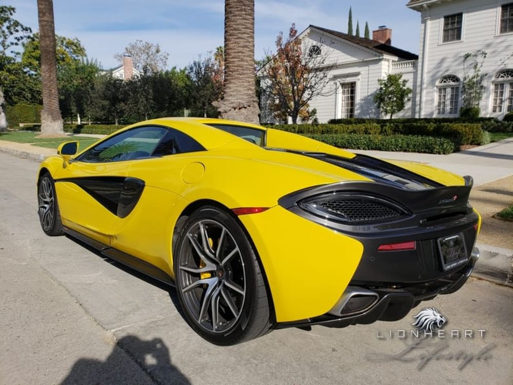 McLaren 570S Spyder