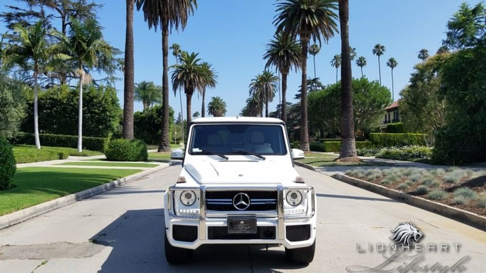 Mercedes Benz G63 AMG White