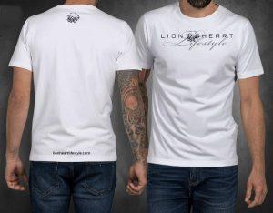 Lion Heart White T-Shirt
